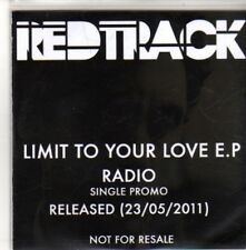 (CH203) Red Track, Limit To Your Love EP - 2011 DJ CD