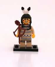 NEW LEGO MINIFIGURES SERIES 1 8683 - Tribal Hunter (Indian)