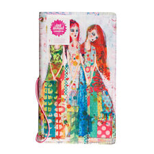 NEW Jane Davenport Canvas Travelers Notebook Butterfly Book, Sisters