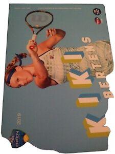 WTA WESTERN & SOUTHERN 5x7 KIKI BERTENS TENNIS CARD 2019 EDITION GIVEAWAY