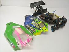 Team Associated RC8B3 1/8 Nitro Buggy Roller Slider Chassis Used