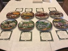 Bradford Exchange Collector Plates, Charles Wysocki's Peppercricket Groove.