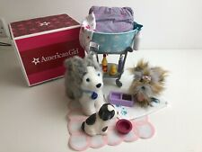American Girl Doll  Bed And Bedding Set - Retired Boxed.