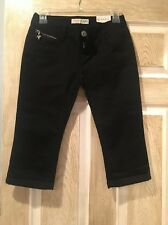 New Guess Jeans, SIZE 25, Knee Length, Women, Black, Capris