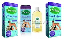 3 x ZOFLORA 500ML FRESH HOME ODOUR REMOVER  AND DISINFECTANT PETS HOME KENNELS