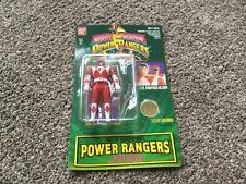New Vintage Rare Power Rangers Auto Morphin Jason Mighty Morphin Red Ranger 1994