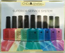 CND SHELLAC SUPERIOR SERVICE SYSTEM UV/LED Gel Power Polish Intro Kit ~ Gift Set