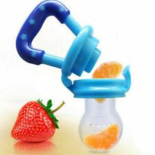 (2 Pack) Baby Feeding Pacifier/ Food & Fruits Feeder, Medium size 6-12 Months