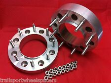"2"" Ford Diesel 1999-2002 F250/350 HUB CENTRIC WHEEL SPACERS ADAPTERS Superduty"