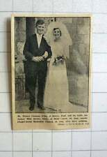 1964 Horace Giles Of Kerris, Paul Marries Shirley Eddy, St Just