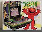 11x9 Elmo Sesame Street Kaws Pop Drip Graffiti Art Painting Ninja Turtles Tmnt