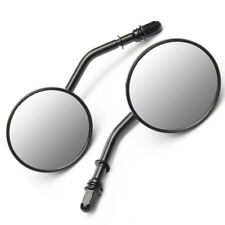 "3"" Rearview Round Mirror Classic Retro Style for 8mm Screw Thread Motorcycle"