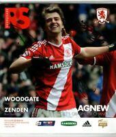 Multi Signed Programme Middlesbrough V Wigan Plus Ticket