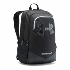 Under Armour NWT Storm Scrimmage Backpack School Bag Silver Black 1277422