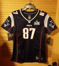 $120 Wmn M 🏈 Nike NFL Rob Gronkowski #87 New England Patriots SB52 Game Jersey