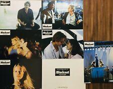 Jeu de 6 photos BLACKOUT Lobby Cards / Abel Ferrara / Claudia Schiffer / B Dalle