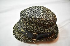 MICHAEL JACKSON PAINTED FEDORA WITH STUDS NEW OFFICIAL RARE STREET CLUB WEAR KOP