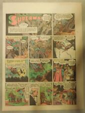 Superman Sunday Page #215 by Siegel & Shuster from 12/12/1943 Tab Page:Year #5!