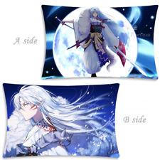 Hot Anime Inuyasha Sesshoumaru Dakimakura Cushion Body Pillow Case Cover 35x55CM