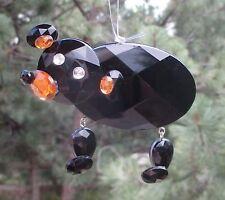 dd Black Bear CRYSTAL EXPRESSIONS ORNAMENT Ganz sun catcher WOODLAND ANIMAL