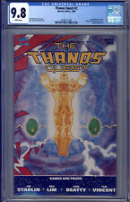 Thanos Quest #2 CGC 9.8 Starlin, Lim, Grand Master, Death, Collector, Runner