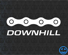 DOWNHILL TRAILS MTB Sticker Decal 180mmW Mountain bike Car Van Giant GT RockShoX