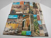 Vintage 1966 Model Railroader Magazine Lot Of 12