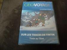 """DVD NEUF """"GEO VOYAGE : SUR LES TRACES DE TINTIN (TINTIN AU TIBET)"""" documentaire"""