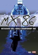 Motocross 500cc World Championship 1986 (New DVD) Jobe Thorpe Malherbe MX