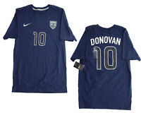 Nike Mens FIFA USA Soccer Landon Donavon #10 Hero Cotton Tee T Shirt 659616