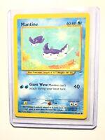 MANTINE - 74/105 - Neo Destiny - Common - Pokemon Card - NM