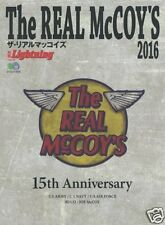 The REAL McCOY'S 2016 Catalogue Magazine Book WW2 Flight Rider Deck Jacket Buco