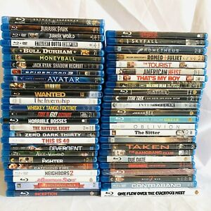 Huge Blu-ray Lot (50) Movies Action Adventure Drama Comedy Guy, Some Sealed