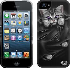 Espiral directo Bright Eyes Apple Iphone 5/5s teléfono móvil Estuche/cubierta, goth/kitten