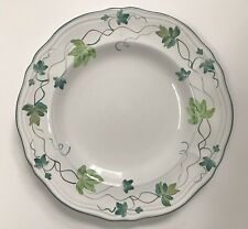 """BOWL 6.5"""" COUPE CEREAL BOWL VINTAGE """"BOW"""" PATTERN HEREND HANDPAINTED HUNGARY"""