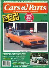 1985 Cars & Parts Magazine: 1970 Plymouth SuperBird/1933 Buick Model 57 Sedan