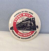 VTG 1982 Pennsylvania Railroad Electric Locomotive FRIENDS OF THE GG1 4800 Pin