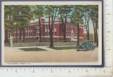 B283 Keene, NH High School postcard Ida J. Crane 403 Washington St., Quiny, MA