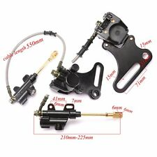 Rear Hydraulic Disc Brake Caliper Master Cylinder Motorcycle Dirt Pit Bike T8