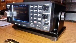 HD3.5+Lb UNIVERSAL PEDESTAL BASE for UNIDEN SDS200 &HamRadio NoBracket NoScanner