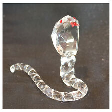 Crystal COBRA snake ornament, nelly comes in gift box, lovely gift - NEW