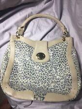 BODHI Leopard Glitter Sparkle Large Shoulder Purse Hobo Handbag 275$
