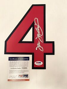 BOSTON RED SOX TIM WAKEFIELD signed TACKLE TWILL JERSEY NUMBER 4 PSA DNA COA