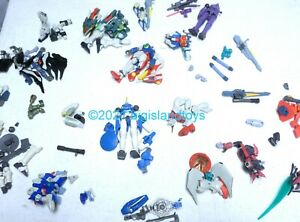 Gundam WING Bandai Toonami Action Figure parts Weapons [PICK / YOUR CHOICE]