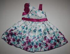 New Gymboree One Shoulder Floral Dress Size 6-12 Months Nwt Family Brunch Line