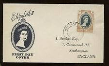 Swaziland Qe Coronation First Day Cover 1953 Mbabane Cancel