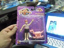 Vintage 1993 The Flintstones Pebbles Bendable/Poseable Action Figure Mattel NIP
