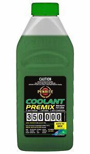 Penrite 350,000km Green Anti-Freeze Coolant Premix 1L fits Renault 16 1.5, 1....