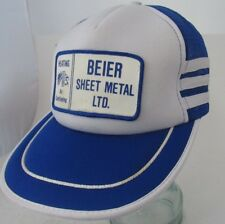 Beier Sheet Metal LTD. Heating Air Conditioning Advertising Side Stripes Hat A13
