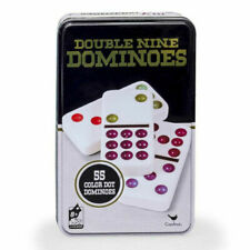 Cardinal Double Nine Color Dot Dominoes Game - Pack of 55